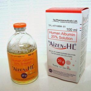 AIZEN-HL® Human Albumin 20mg