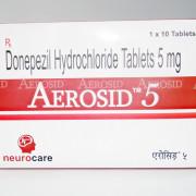 Aerosid 5 (Donepezil Hydrochloride Tablets 5mg) 1