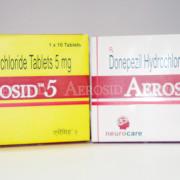Aerosid 5 (Donepezil Hydrochloride Tablets 5mg)