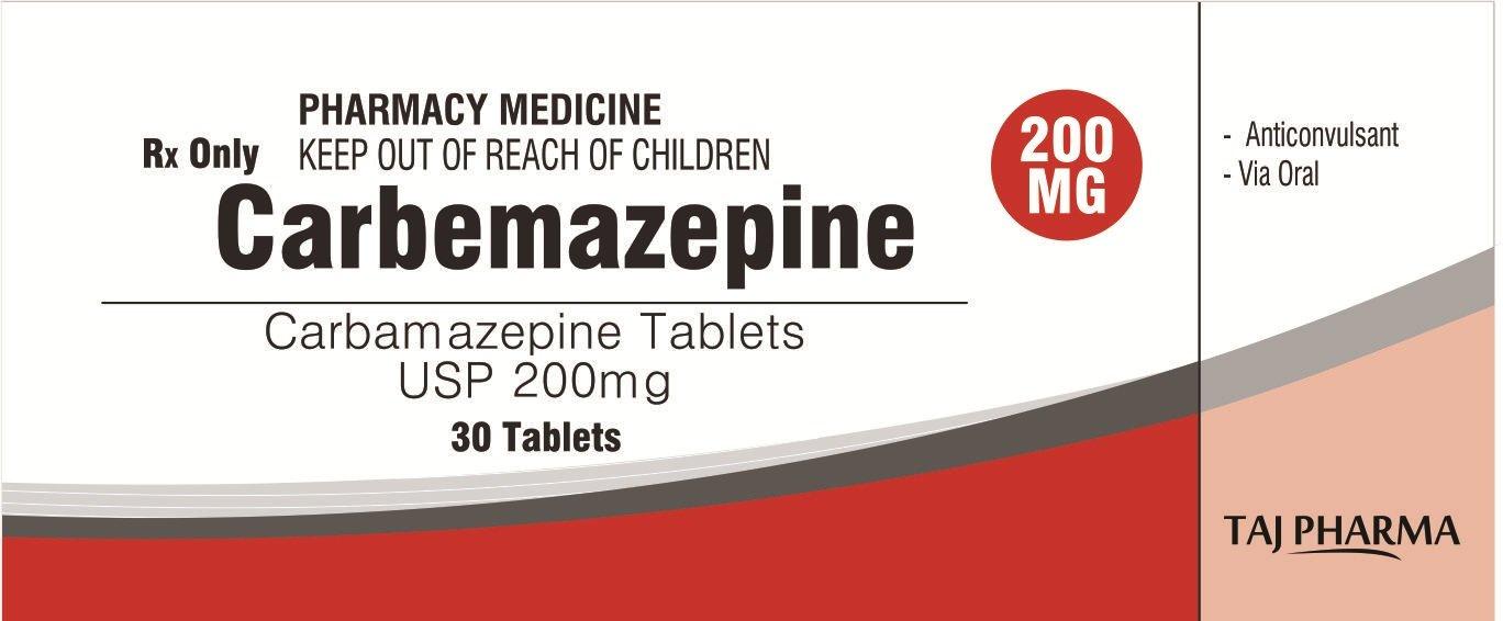 Carbamazepine 200mg tablets