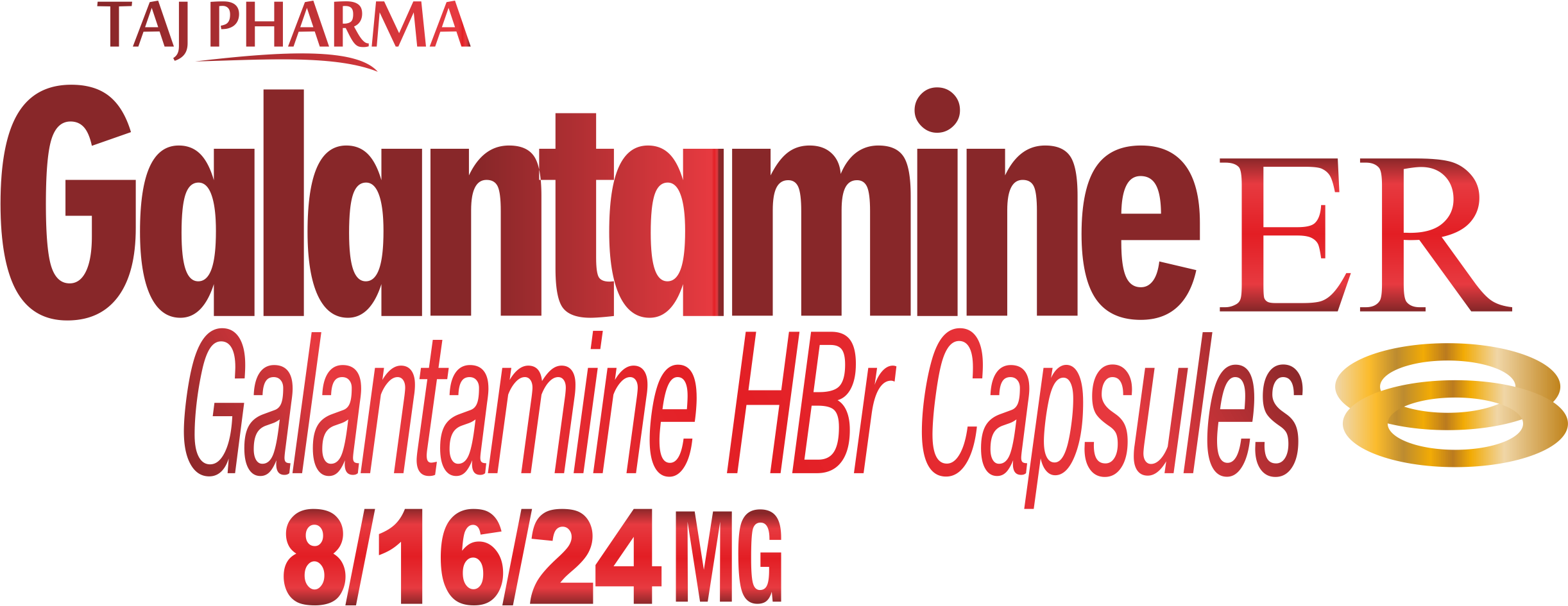 Galantamine extended-release capsules - Taj Pharma