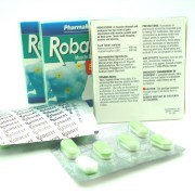 ROBACET®Acetaminophen 500mg+Methocarbomol 400mg