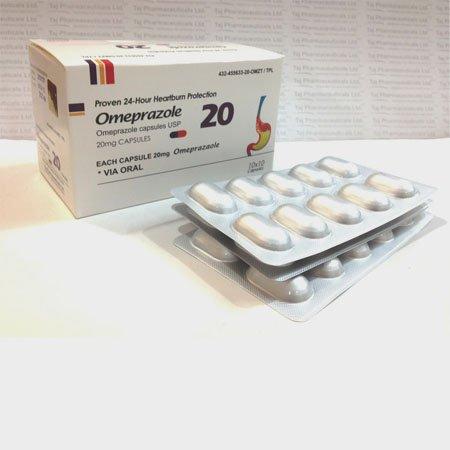 Omeprazole 20mg USP Capsules_tajdearobpharma