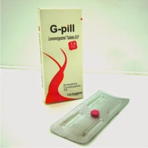 G-PILL (levonorgestrel 1.5 MG BP Tablets)_tajdearobpharma