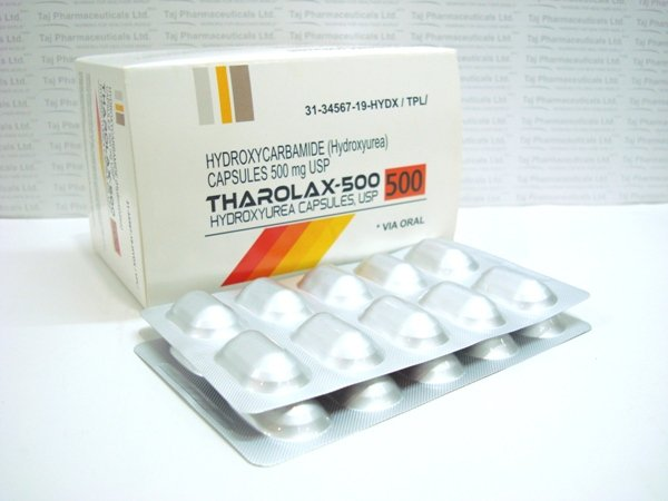 Hydroexrua 500mg capsules - Blood and bone marrow cancers