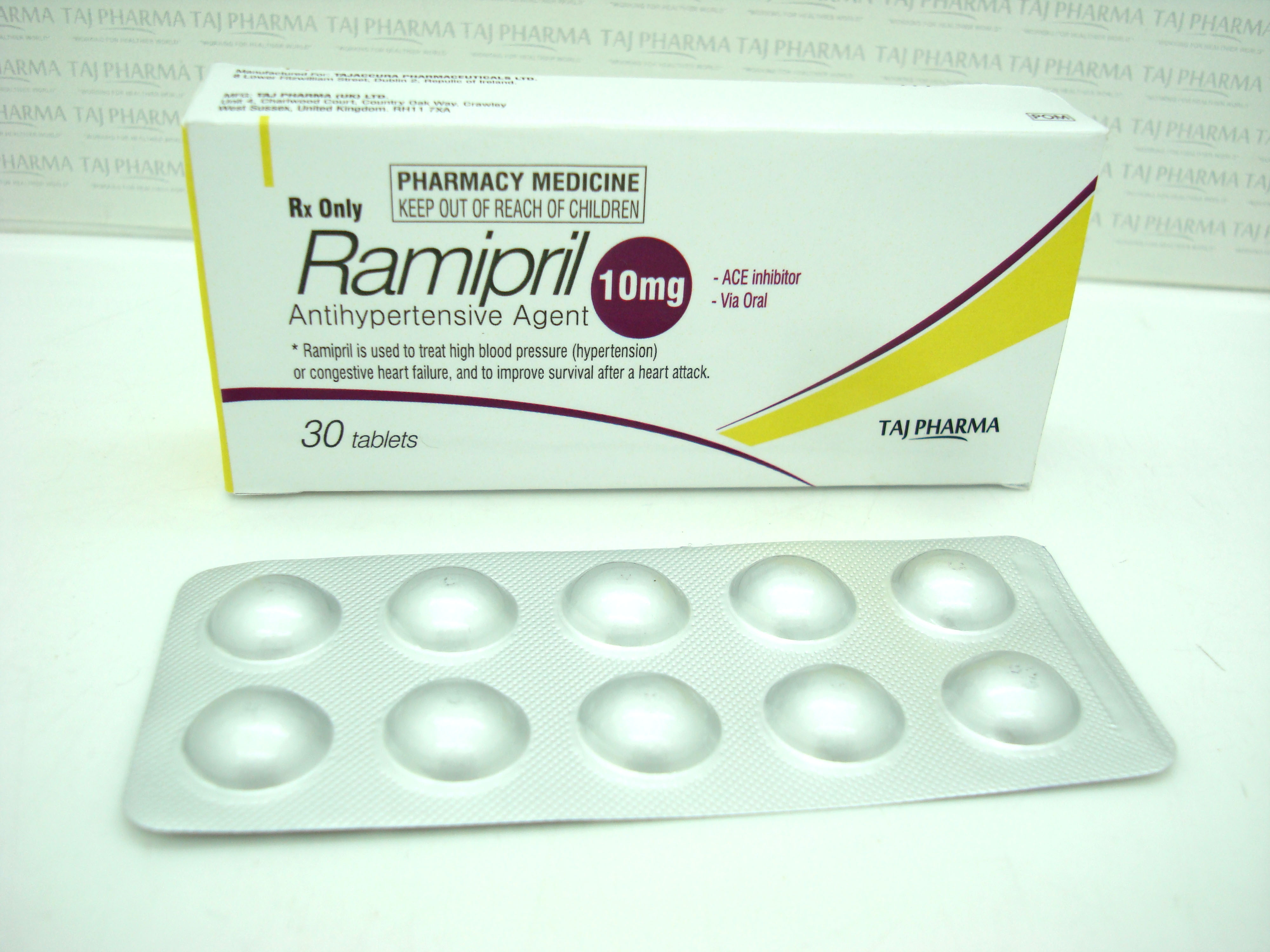 Ramipril 10 Mg Not Working
