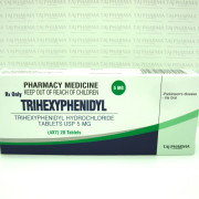 Trihexyphenidyl Hydrochloride Tablets USP 5 mg